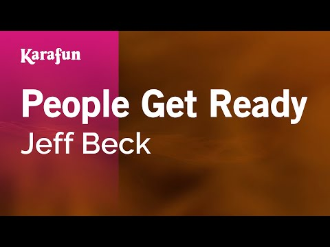 People Get Ready - Jeff Beck | Karaoke Version | KaraFun