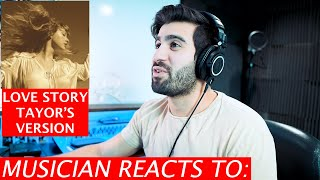 Taylor Swift - Love Story (Taylor's Version) - Musician's Reaction