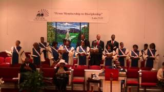 "New Hope Young Adult Choir sings ""Yield Not to Temptation"""