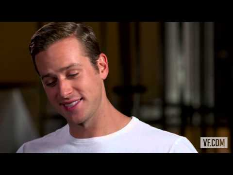 Armie Hammer interview with Vanity Fair
