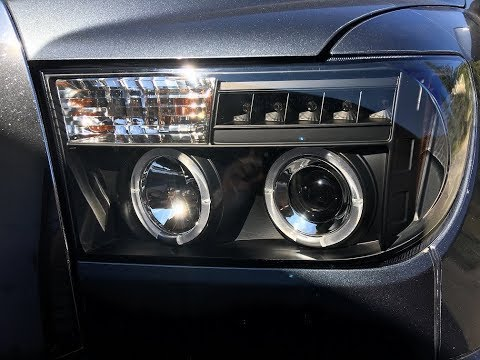 Spyder Headlights On A 2008 Toyota Tundra Crewmax Mp3