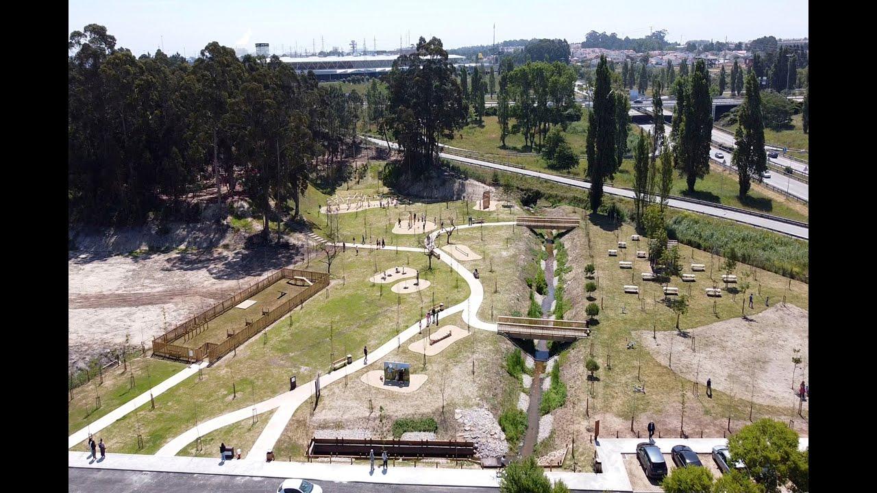 Inauguração do Parque Aventura - Fonte do Meio