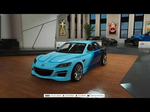 The Crew 2 - 790HP Mazda RX-8 Customization & Gameplay [Blazing Shots Update]