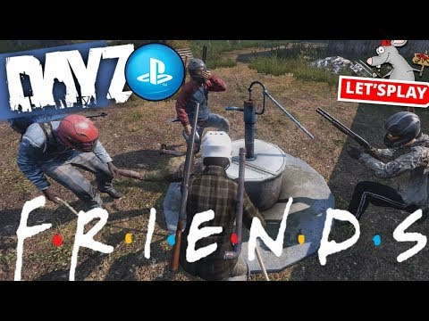 DAYZ PS4 Gameplay - Water Cooler Moment - Surviving Is Hard
