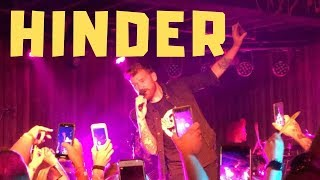 CONCERT REVIEW - NEW HINDER KILLS LIPS OF AN ANGEL WITH TOO MANY SELFIES, SHOCKINGLY SMALL CROWD