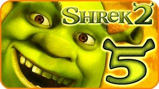 Shrek 2 Walkthrough Part 5 (PS2, XBOX, Gamecube) Team Action - 5: Walking the Path