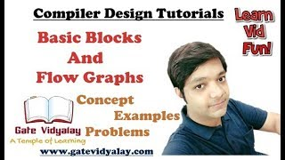 Basic Blocks and Flow Graphs in Compiler design Explained Step by Step