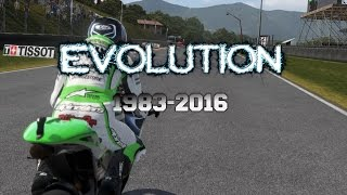 History of Motorcycle Racing Games (1983-2016)