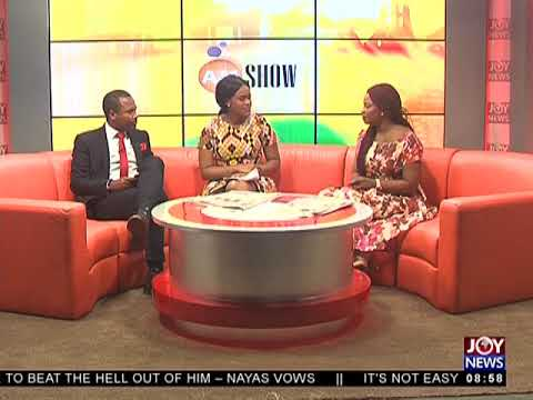 Mother Defends Daughter - AM Showbiz on JoyNews (17-5-18)