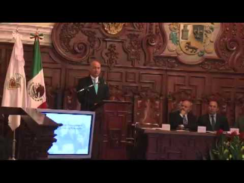 Firma del Programa Estatal de Cooperación (PEC) Sr. Diego Palacios Jaramillo