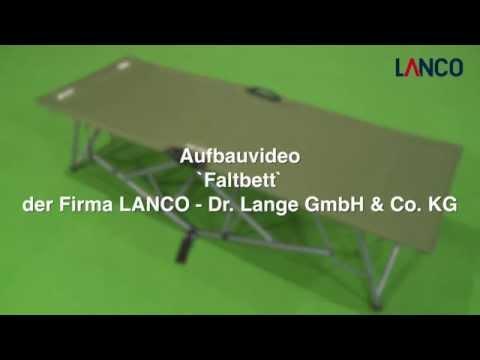LANCO - Faltbett