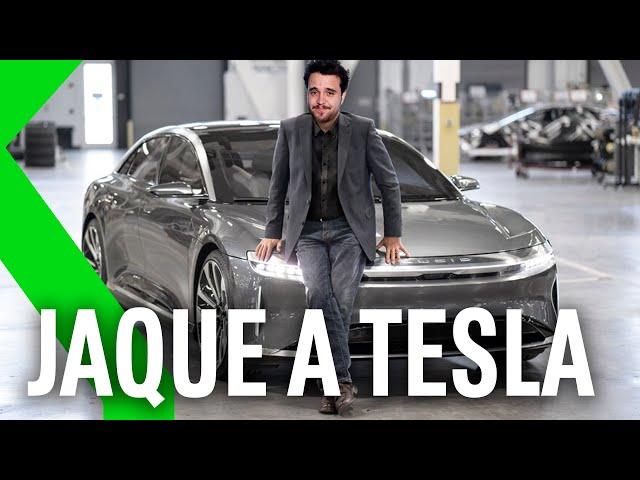 LUCID AIR: El COCHE ELÉCTRICO que GANA A TESLA en VELOCIDAD