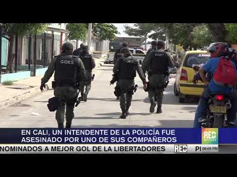 RED+ |En Cali, un intendente de la policia fue asesinado por uno de sus compañeros