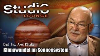 Klimawandel im Sonnensystem – Axel Klitzke
