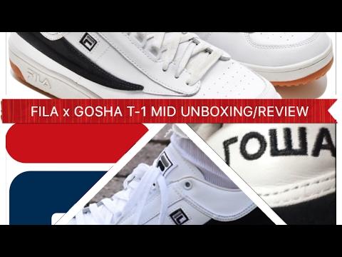 GOSHA RUBCHINSKIY x FILA T-1 MID UNBOXING / REVIEW