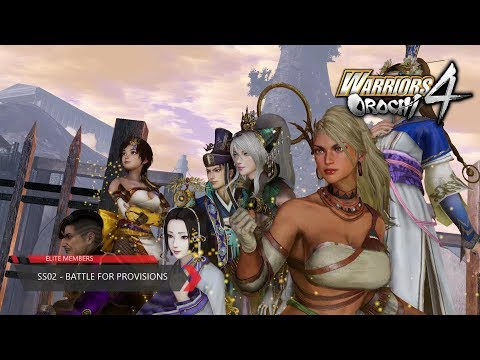 Warriors Orochi 4 - (SS-02) - Battle for Provisions (Chaotic Difficulty)