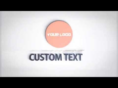 After Effects Template: Shape Glitch Logo - смотреть онлайн