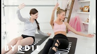 Get Abs Like A Victoria's Secret Angel with Martha Hunt and Ballet Beautiful | Byrdie