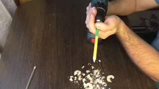 Осторожно лайфхак!!! Как заточить карандаши :)