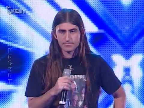 X Factor Albania - 8 Janar 2012 - Edmond Themeli