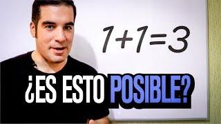 1+1=3 ¿Paradoja matemática? | Problemas y contradicciones