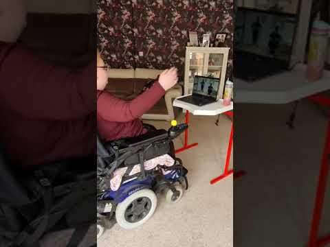 Limited mobility seated chair exercise