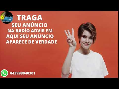 traga seu anúncio na rádio advir fm