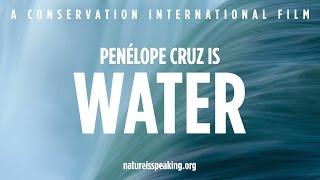 Penélope Cruz is WATER