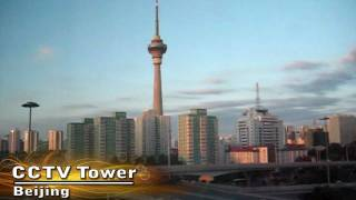 Video : China : The CCTV Broadcasting Tower, Beijing - video