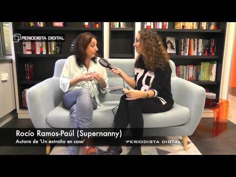 Rocío Ramos-Paúl ('Supernanny'), autora de 'Un extraño en casa'. 7-11-2014