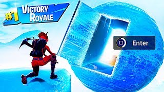 How To Get Into THE ICE SPHERE in Fortnite Battle Royale