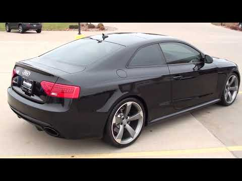 2013 Audi RS5 Coupe Quattro S Tronic Only @ Ron's Toy Box in Bettendorf,IA