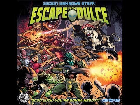 Secret Unknown Stuff: Escape from Dulce Review