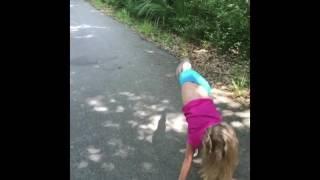 Isabelle 7 Year Old Level 5 Gymnast - WIAC