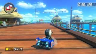 DS Cheep Cheep Beach - 1:44.520 - Twi (Mario Kart 8 World Record)