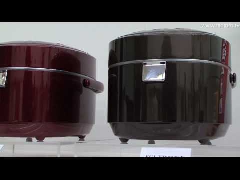 Sanyo ECJ XP2000 - High-end IH pressure rice-cooker : DigInfo