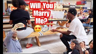 MARRIAGE PROPOSAL GONE WRONG!!! SHE SAID NO!!!