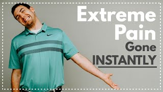 Extreme Shoulder & Arm Pain Gone INSTANTLY (Coming From Your Neck?)