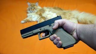 Мне подарили пистолет ! Всех замочу !!!!1