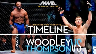 UFC 205: Tyron Woodley vs. Stephen Thompson Timeline