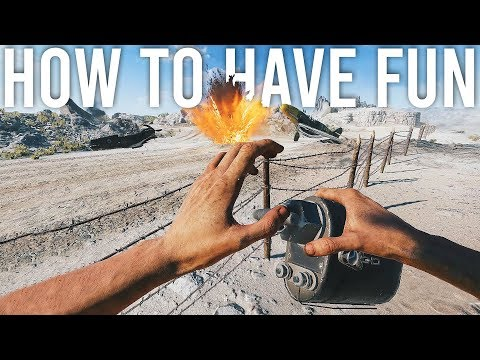 How to have fun in Battlefield 5