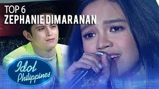 "Zephanie Dimaranan sings ""Huwag Ka Nang Umiyak""   Live Round   Idol Philippines 2019"