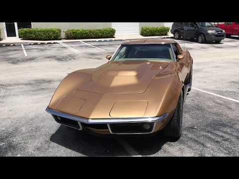 Video of 1969 Chevrolet Corvette located in Florida - $24,000.00 Offered by Bullet Motorsports Inc - LS2F