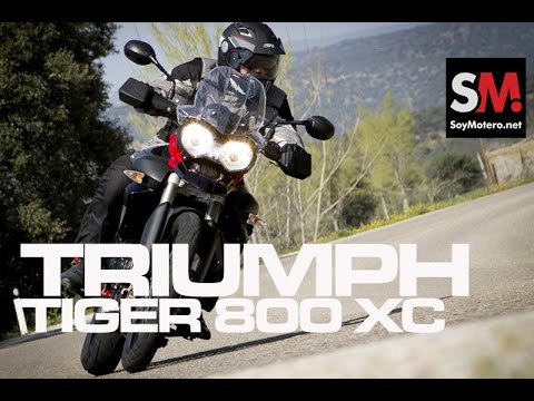 Prueba Triumph Tiger 800 XC SE 2014