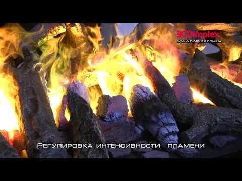 Электрокамин Dimplex Opti-myst Juneau wf Video #1