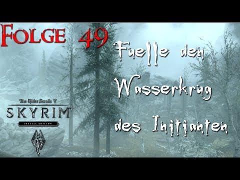 Skyrim Special Edition German - Folge 49 - Wasserkrug füllen 2   Let's Play