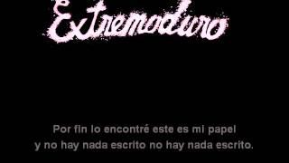 Extremoduro Emparedado Karaoke