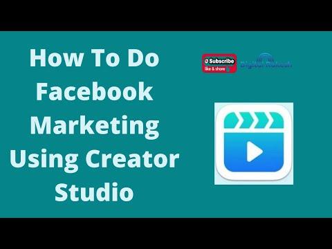 Facebook Creator Studio Tutorial
