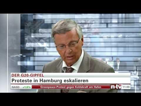 Bosbach bringt die Fakten auf den Punkt 2017 07 08 10 52 00 n tv deu News Spezial  Der G20 Gipfel
