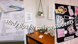 STUDY TIPS From A College Student | How I Maintain A 4.0